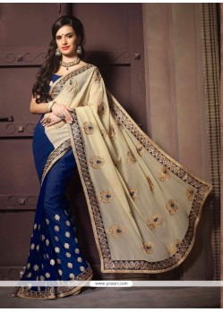 Invigorating Georgette Designer Saree