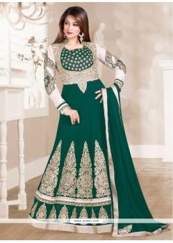 Subtle Green Anarkali Salwar Kameez