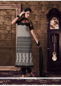 Modest Georgette Churidar Designer Suit