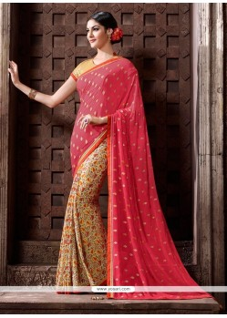 Aspiring Print Work Casual Saree