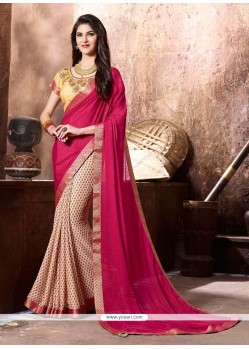 Bedazzling Multi Colour Casual Saree