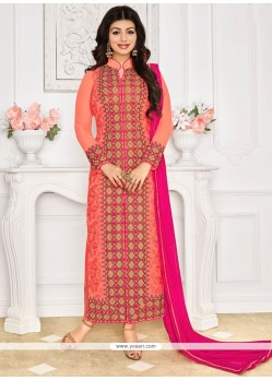 Ayesha Takia Embroidered Work Designer Straight Suit