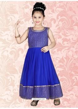 Incredible Blue Salwar Kameez