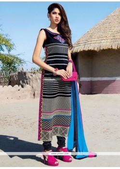 Pleasance Tafeta Silk Multi Colour Party Wear Kurti