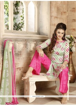 Sophisticated Print Work Multi Colour Palazzo Suit