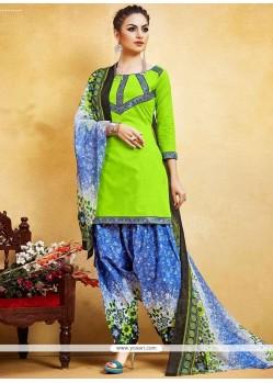 Epitome Print Work Punjabi Suit