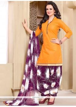 Superlative Cotton Punjabi Suit