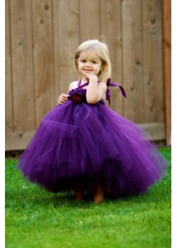 Flattering Purple Evening Gown