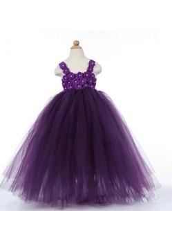 Astonishing Purple Length Gown