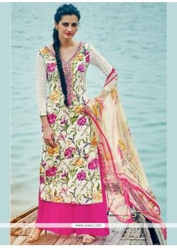 Classy Multi Colour Palazzo Suit