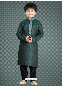 Attaning Green Readymade Kurta