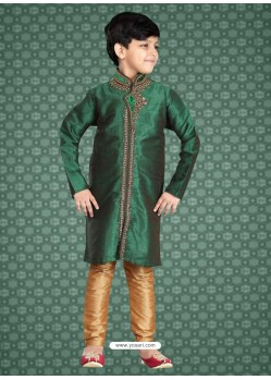 Awesome Green Festive Kurta