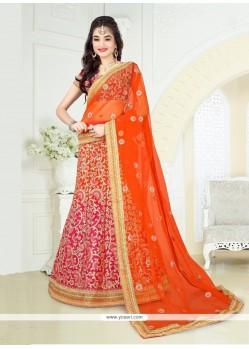 Stunning Art Silk A Line Lehenga Choli