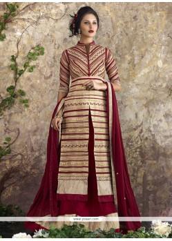 Glorious Georgette Resham Work Lehenga Choli