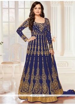 Mesmerizing Resham Work Anarkali Salwar Suit