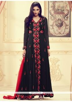 Royal Embroidered Work Designer Floor Length Suit