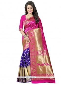 Epitome Banarasi Silk Designer Traditional Saree