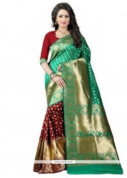 Delightful Banarasi Silk Traditional Designer Saree