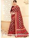 Mesmeric Tussar Silk Weaving Work Designer Traditional Saree