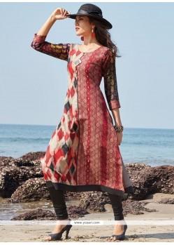 Beautiful Chanderi Party Wear Kurti