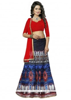 Regal Banglori Silk Multi Colour Lehenga Choli