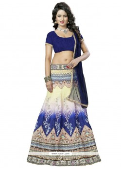 Astonishing Banglori Silk Print Work Lehenga Choli