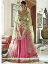 Ravishing Art Silk Embroidered Work Designer Lehenga Choli