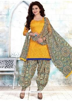 Mod Cotton Punjabi Suit