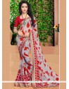 Delightful Casual Saree For Party