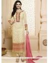 Prachi Desai Georgette Churidar Designer Suit
