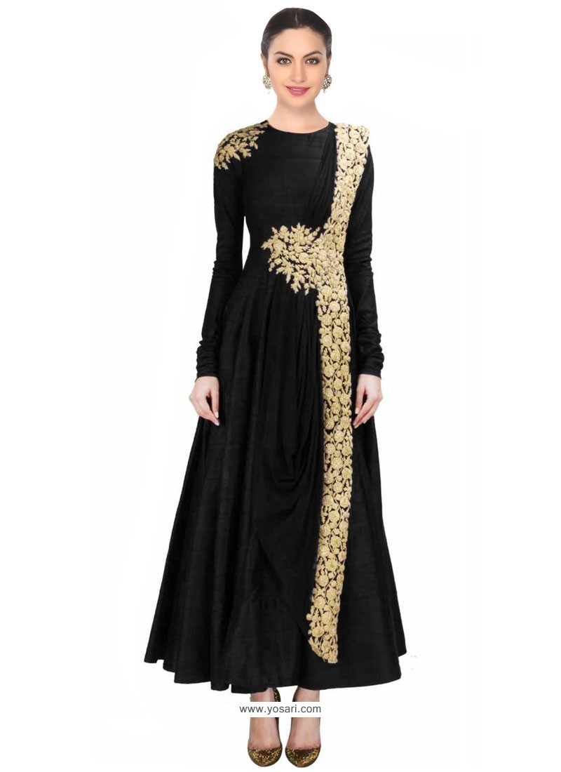 Dainty Net Embroidered Work Designer Salwar Suit