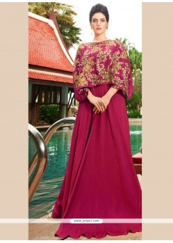 Nice Satin Silk Designer Gown