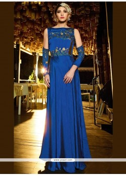 Embroidered Work Readymade Gown