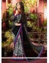 Multicolored Art Silk Resham Designer Saree