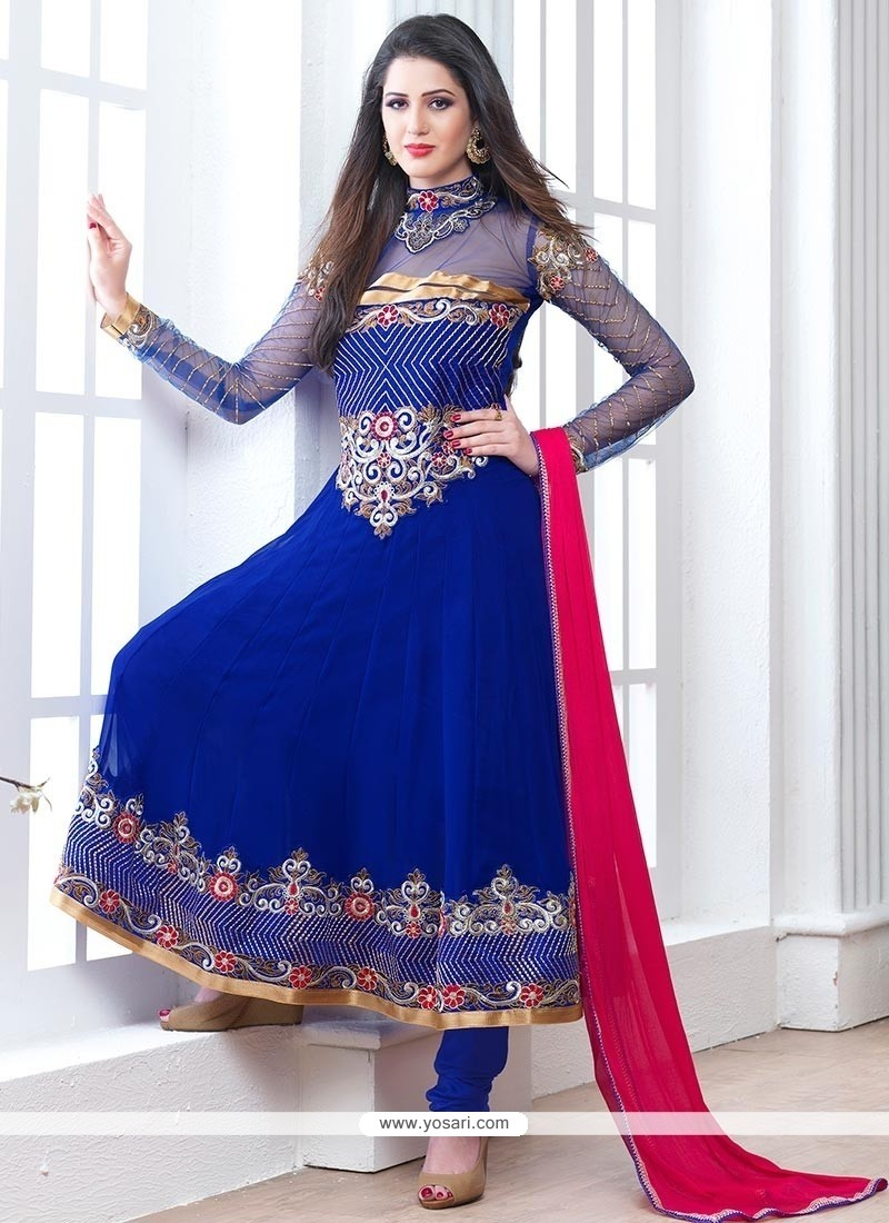 Designer party wear suits for girls