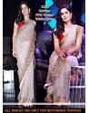 Katrina Kaif White Net Saree
