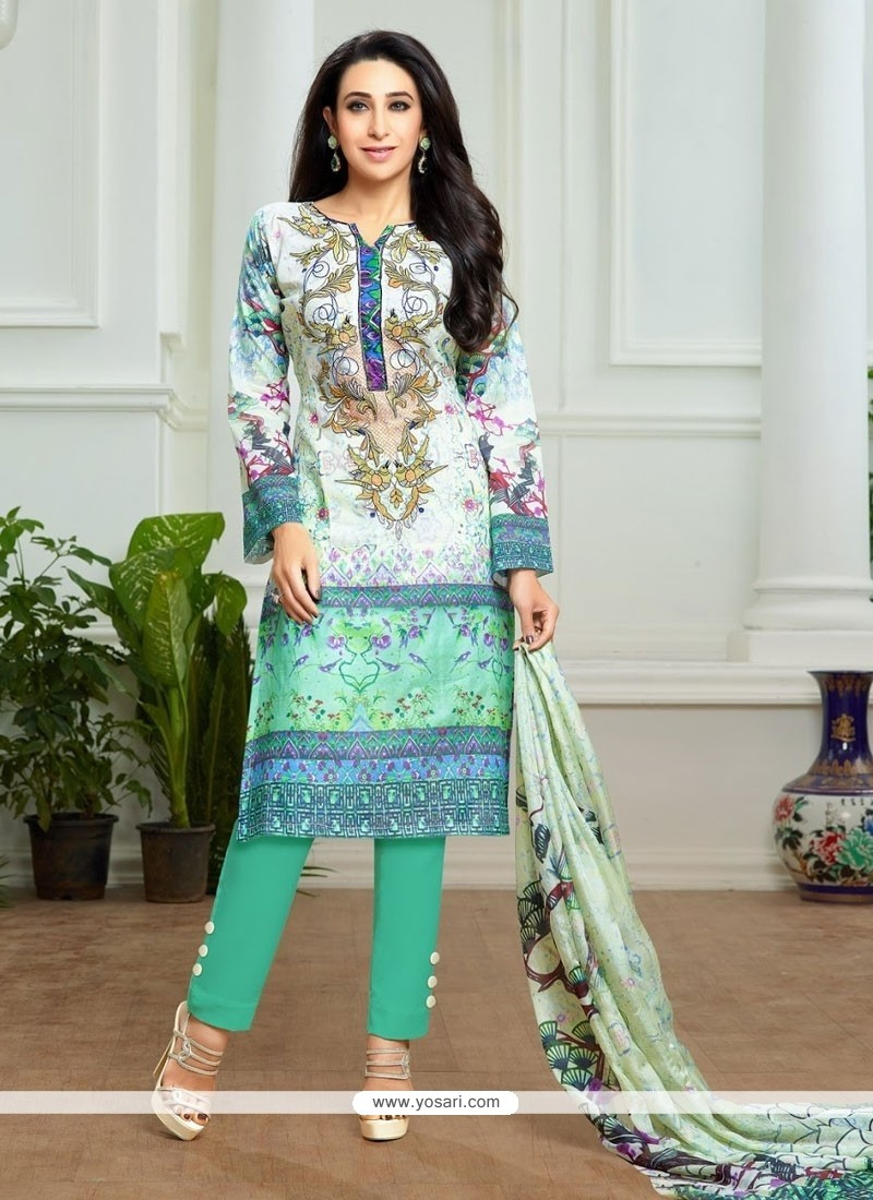 Shop online karishma kapoor pashmina designer suit for Online suit builder