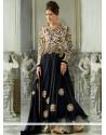 Imperial Black Zari Work Anarkali Suits