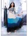 Multicolor Georgette Designer Anarkali Suits
