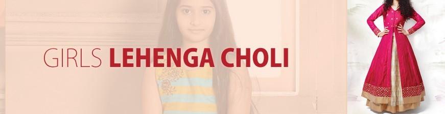 Lehenga Choli For Girls
