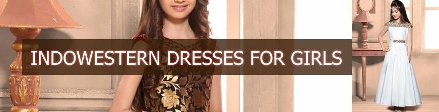 Indowestern Dresses For Girls