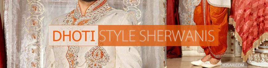Dhoti Style Sherwani