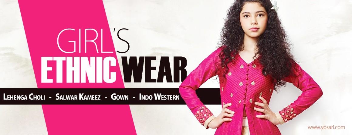 Buy Online Girls indian ethnic wear