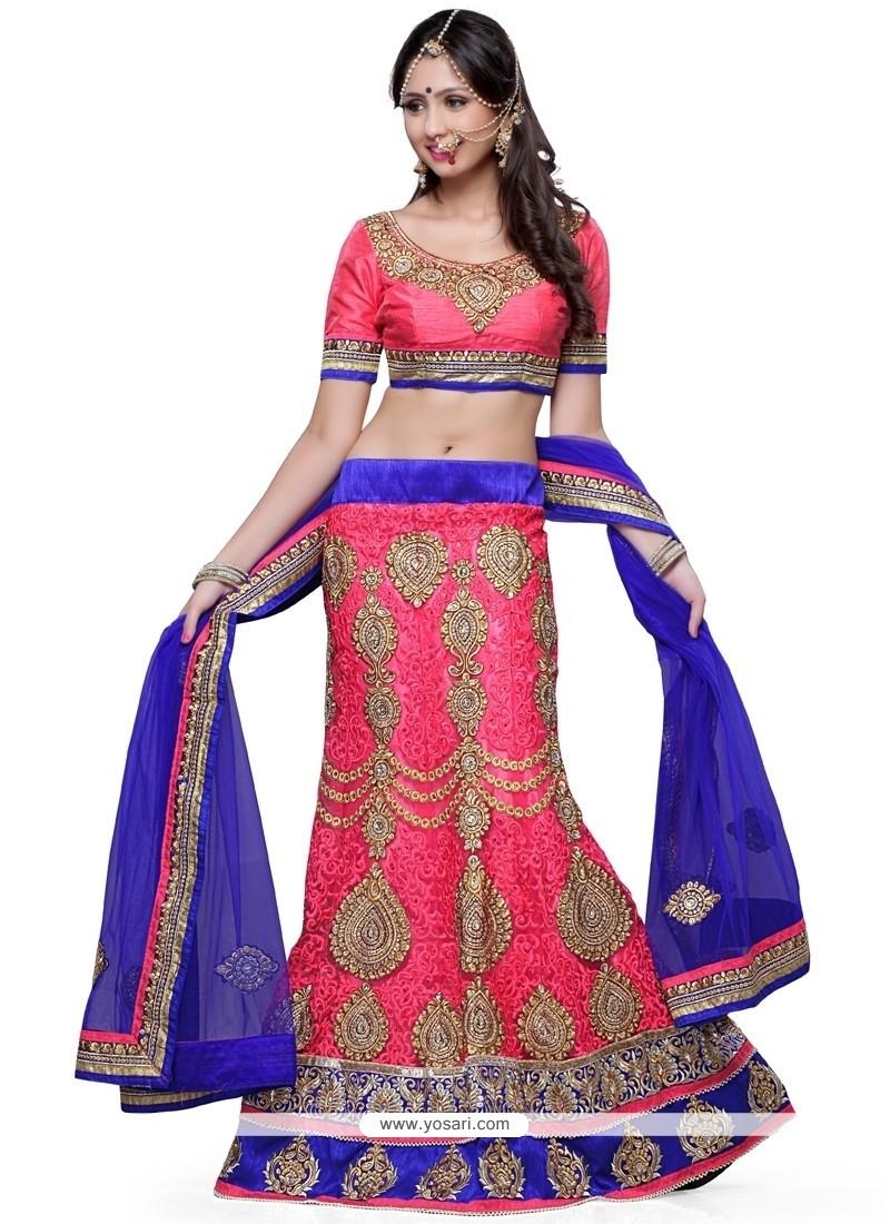 9851ed2db9 Shop online Girlish Net A Line Lehenga Choli