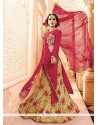 Bewitching Georgette Embroidered Work A Line Lehenga Choli