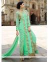 Magnetize Resham Work Georgette Designer Salwar Suit