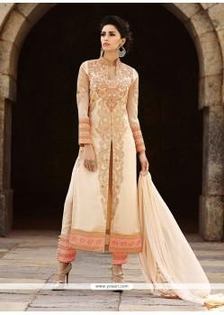 Jazzy Georgette Embroidered Work Salwar Suit