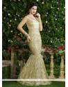 Angelic Beige Designer Salwar Suit