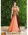 Perfervid Resham Work Floor Length Anarkali Salwar Suit