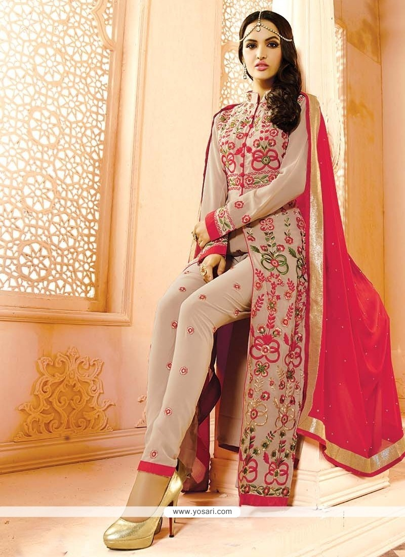 Urbane Embroidered Work Designer Salwar Suit